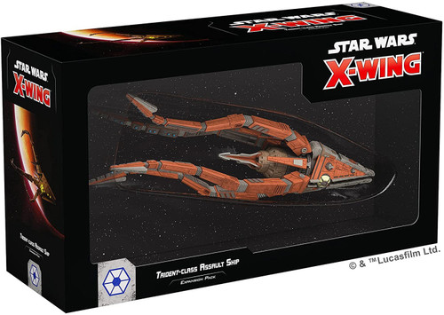 Star Wars X-Wing Miniatures Game Trident-Class Assault Ship [2nd Edition]