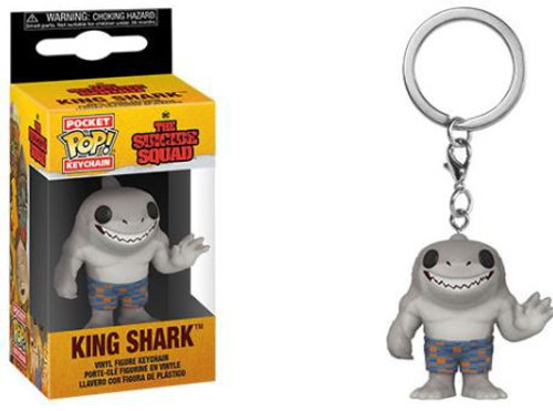 Funko The Suicide Squad POP! Movies King Shark Keychain
