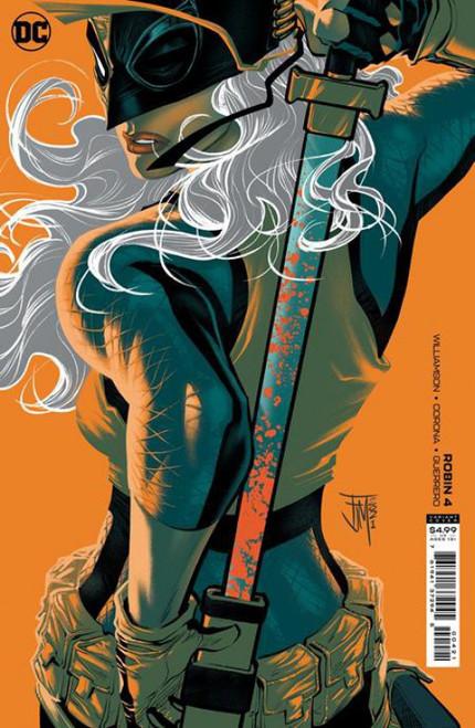 DC Robin #4B Comic Book [Manapul Variant]