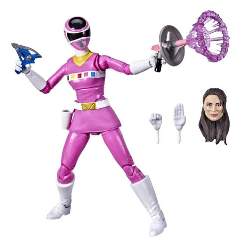 Power Rangers In Space Lightning Collection Pink Ranger Action Figure [PRIS] (Pre-Order ships February)