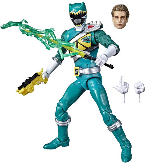 Power Rangers Dino Charge Lightning Collection Green Ranger Action Figure (Pre-Order ships February)