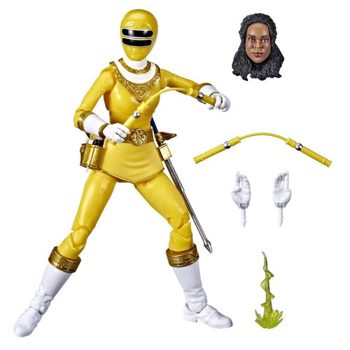 Power Rangers ZEO Lightning Collection Yellow Ranger Action Figure [ZEO] (Pre-Order ships February)