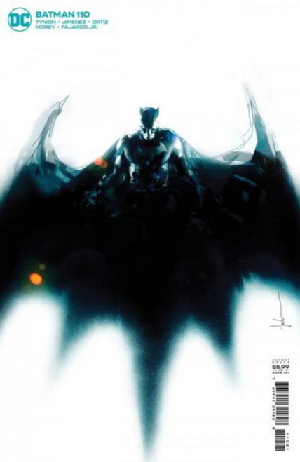 DC Comics Batman, Vol. 3 #110B Comic Book [Jock Variant]