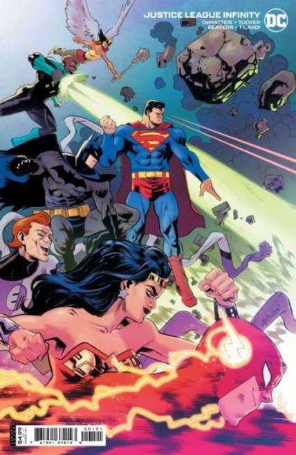 DC Comics Justice League Infinity #1B Comic Book [Scott Hepburn Variant]