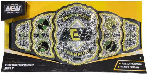 AEW All Elite Wrestling World Champion Championship Belt