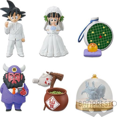 WCF Dragon Ball Legends Treasure Rally Treasure Rally 2.5-Inch Set of 6 PVC Figures [Volume 1] (Pre-Order ships January)
