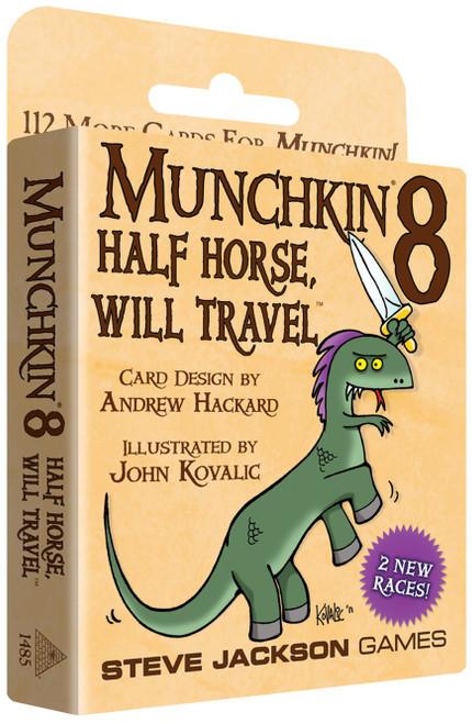 Munchkin Munchikn 8 Half Horse, Will Travel Card Game Expansion