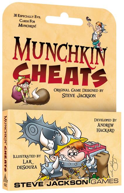 Munchkin Cheats Card Game Expansion