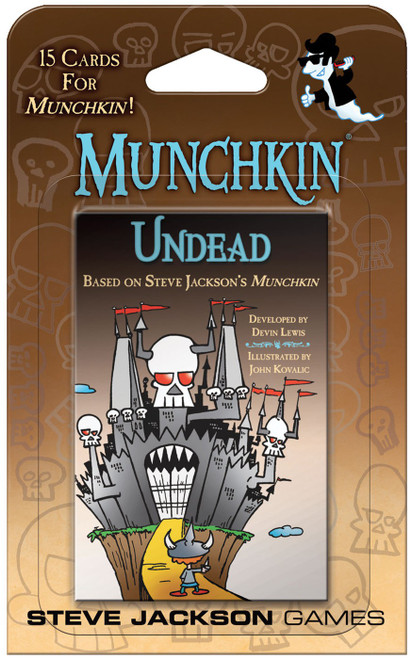 Munchkin Undead Card Game Expansion