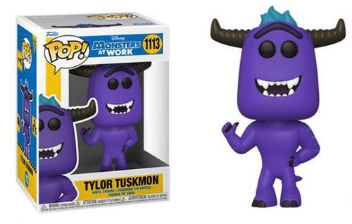 Funko Disney Monsters at Work Tylor Tuskmon Vinyl Figure (Pre-Order ships August)