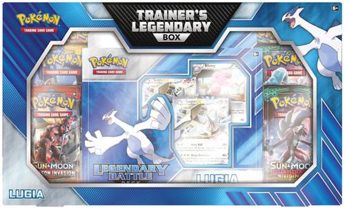 Pokemon Trading Card Game Lugia Trainer's Legendary Box [6 RANDOM Booster Packs, Battle Deck, Coin & More]