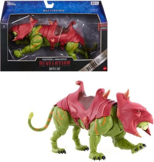 Masters of the Universe Revelation Masterverse Battle Cat Deluxe Action Figure (Pre-Order ships September)