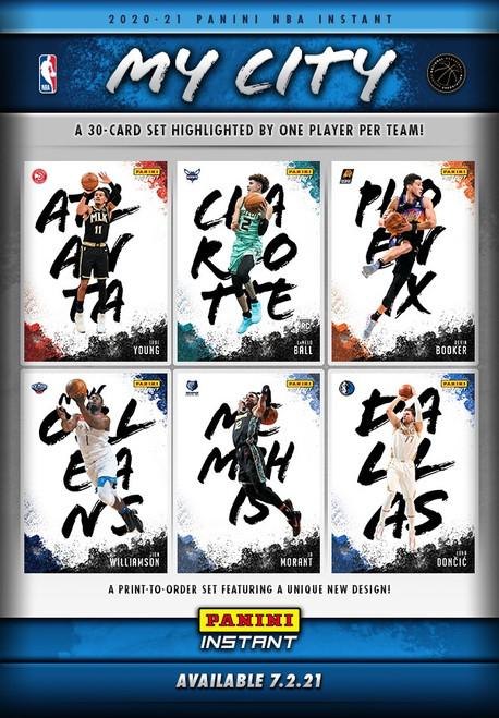 NBA Panini 2020-21 My City Basketball Exclusive Trading Card Set [30 Cards]