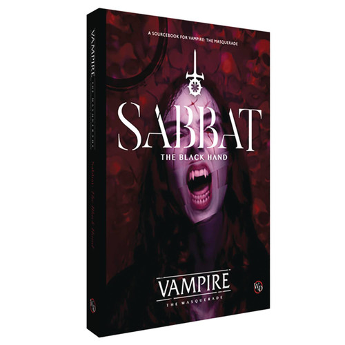 Vampire: The Masquerade Sabbat Roleplaying Book [The Black Hand] (Pre-Order ships September)
