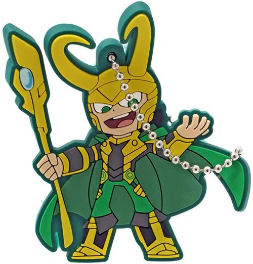 Marvel Gashapon Loki 2-Inch Keychain