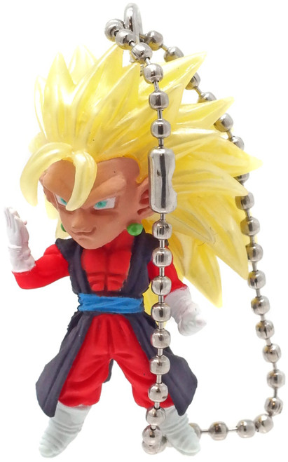 Dragon Ball Super UDM The Best 24 SSJ3 Goku Xenoverse 1.5-Inch Keychain Clip-On