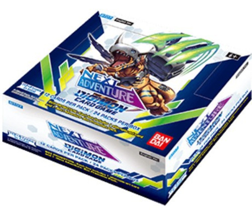 Digimon Trading Card Game Next Adventure Booster Box BT-07 [24 Packs] (Pre-Order ships January)