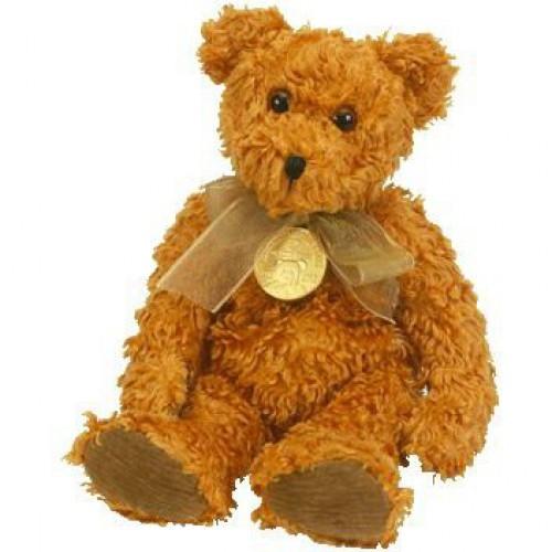 Beanie Babies Teddy the Brown Bear Beanie Baby Plush [Celebrating 100 Years]