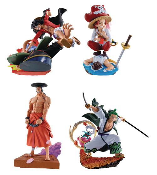 One Piece Logbox Rebirth Wano Country 3-Inch Collectible PVC Figure Set [Version 3] (Pre-Order ships January)