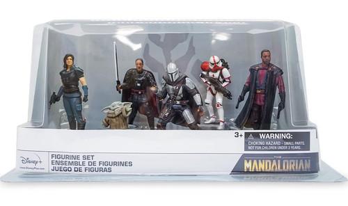 Disney Star Wars The Mandalorian 6-Piece PVC Figure Deluxe Play Set
