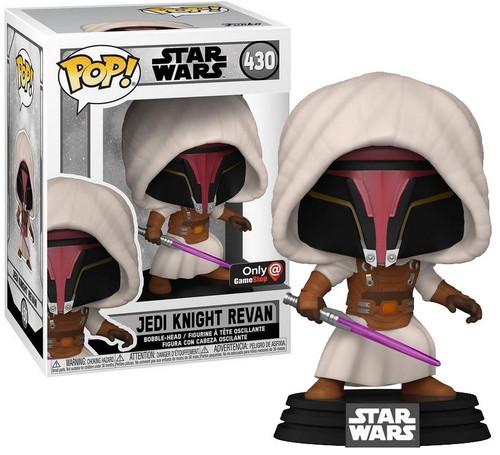 Funko Gaming Greats POP! Star Wars Jedi Knight Revan Exclusive Vinyl Figure #430