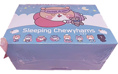 Sleeping Chewy Hams Series 1 3-Inch Blind Mystery Box [6 RANDOM Figures] (Pre-Order ships January)