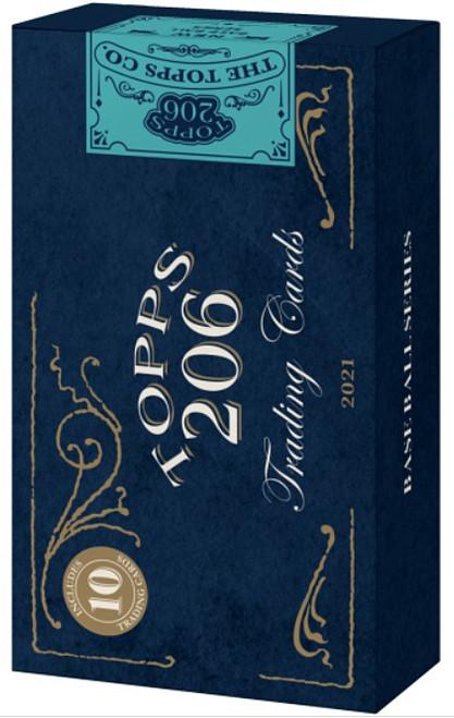MLB Topps 2021 206 Series 4 Baseball Trading Card Pack [10 Cards] (Pre-Order ships July)