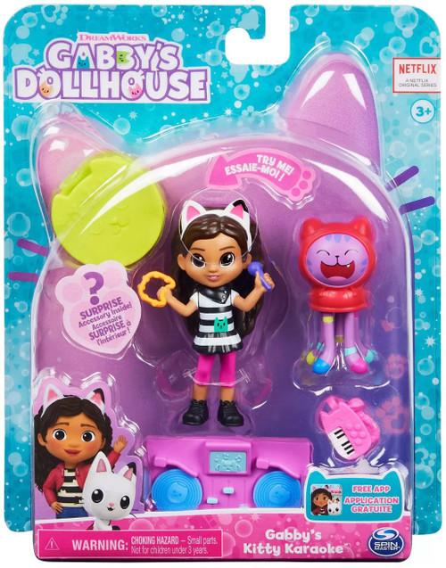 Gabby's Dollhouse Gabby's Kitty Karaoke Figure Set