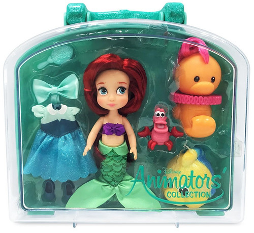 Disney The Little Mermaid Animators' Collection Ariel Exclusive 5-Inch Mini Doll Playset [2021]