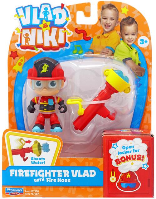 Vlad & Niki Firefighter Vlad Figure Set [with Firehose]