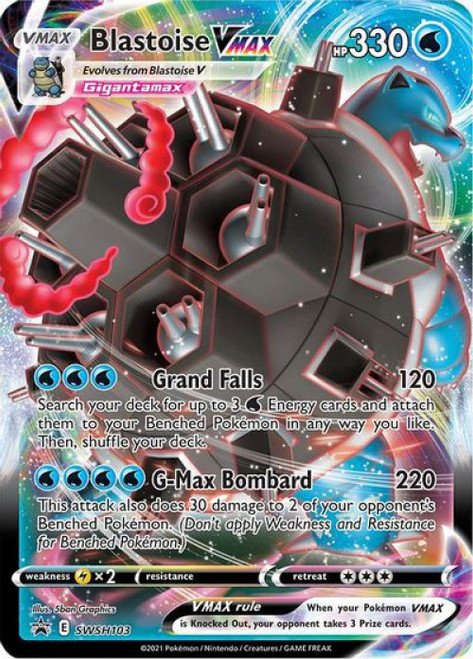 Pokemon Sword & Shield Promo Blastoise VMAX SWSH103