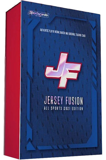 Jersey Fusion 2021 All Sports Edition Trading Card Box (Pre-Order ships October)