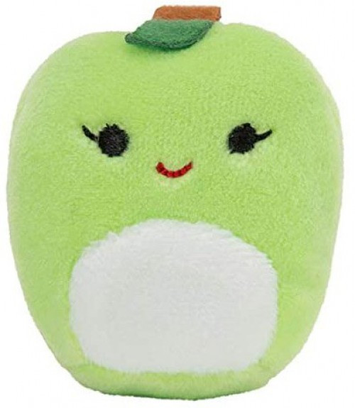 Squishmallows Squishville! Ashley Green Apple 2-Inch Mini Plush