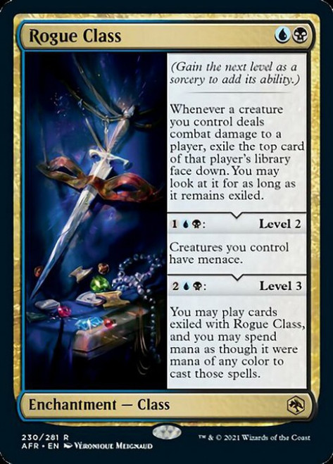 MtG Adventures in the Forgotten Realms Rare Rogue Class #230