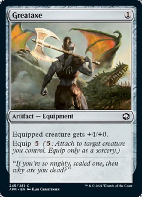 MtG Adventures in the Forgotten Realms Common Greataxe #245