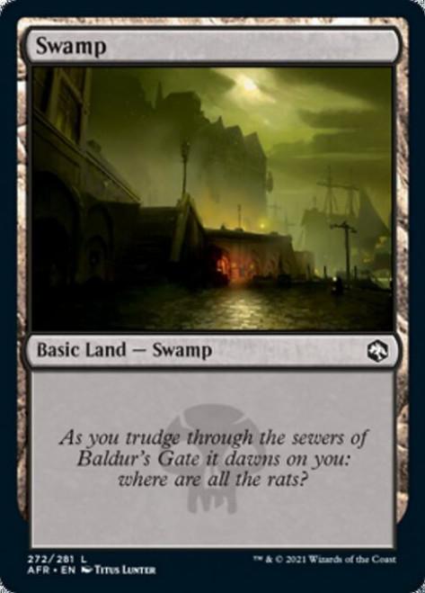 MtG Adventures in the Forgotten Realms Common Swamp #272