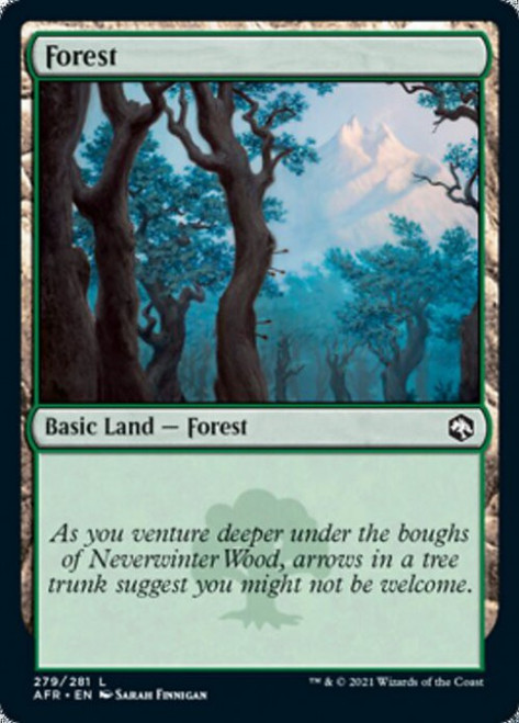 MtG Adventures in the Forgotten Realms Common Forest #279