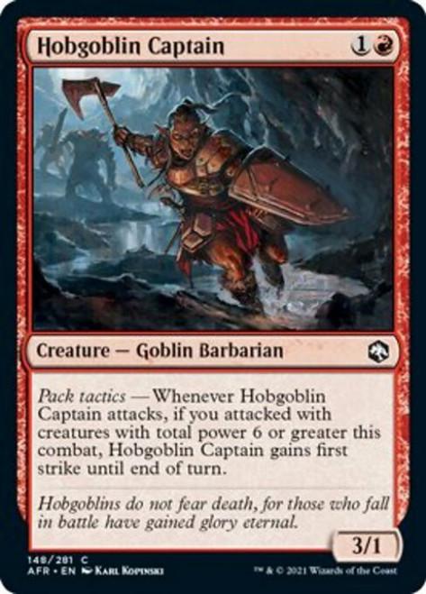 MtG Adventures in the Forgotten Realms Common Foil Hobgoblin Captain #148
