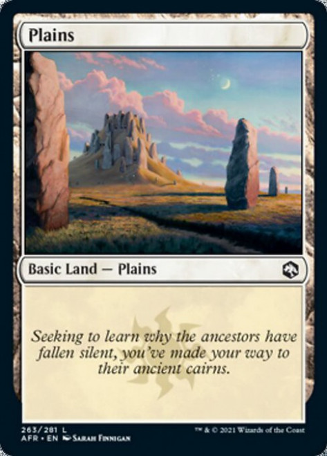 MtG Adventures in the Forgotten Realms Common Foil Plains #263