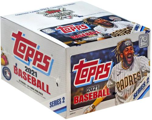 MLB Topps 2021 Series 2 Baseball Trading Card RETAIL Box [24 Packs]
