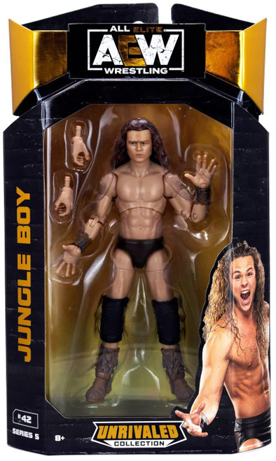 AEW All Elite Wrestling Unrivaled Collection Series 5 Jungle Boy Action Figure