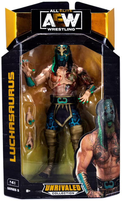AEW All Elite Wrestling Unrivaled Collection Series 5 Luchasaurus Action Figure