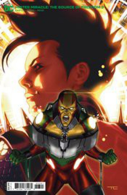 DC Comics Mister Miracle: The Source of Freedom #3 Comic Book [Card Stock Variant]