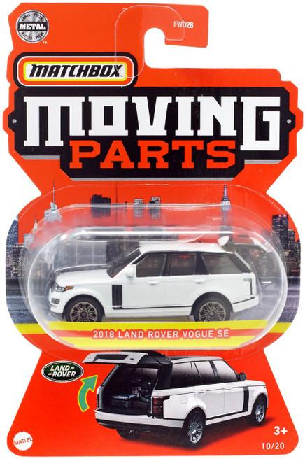 Matchbox Moving Parts 2018 Land Rover Vogue Diecast Vehicle