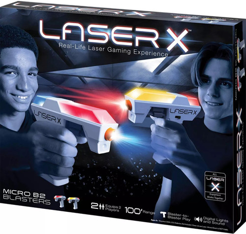 Laser X Micro B2 Blasters 2-Player Set