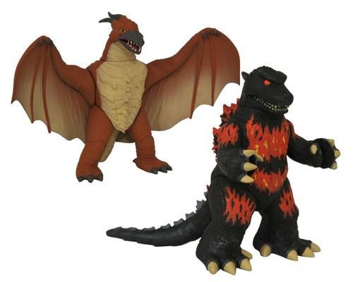 Vinimate Burning Godzilla 1995 & Rodan 4-Inch Collectible Vinyl Figure 2-Pack (Pre-Order ships January)