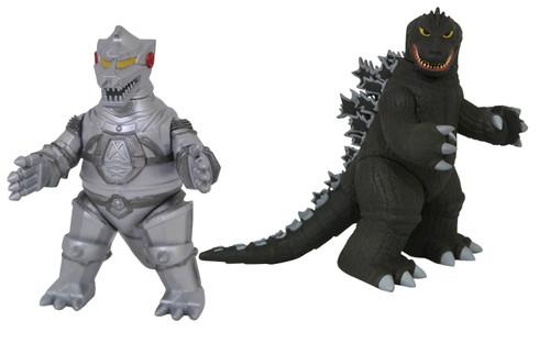 Vinimate Godzilla 1962 & Mechagodzilla 4-Inch Collectible Vinyl Figure 2-Pack (Pre-Order ships January)