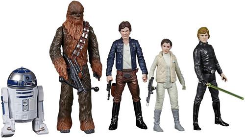 Star Wars Celebrate the Saga Rebel Alliance Exclusive Action Figure 5-Pack [R2-D2, Han Solo, Princess Leia, Chewbacca & Luke Skywalker]