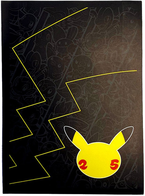 Pokemon Trading Card Game Celebrations Card Sleeves [65 Count] (Pre-Order ships October)