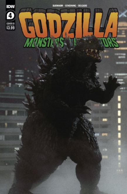 idw Publishing Godzilla: Monsters & Protectors #4B Comic Book